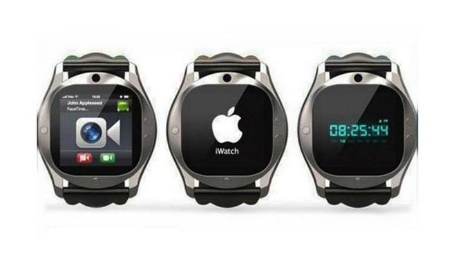 Supuesto reloj inteligente de Apple