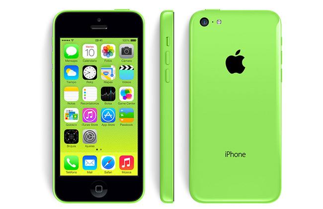 iPhone 5C rebajado en Estados Unidos.