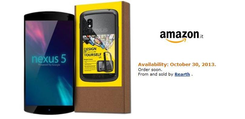 Amazon nexus 5