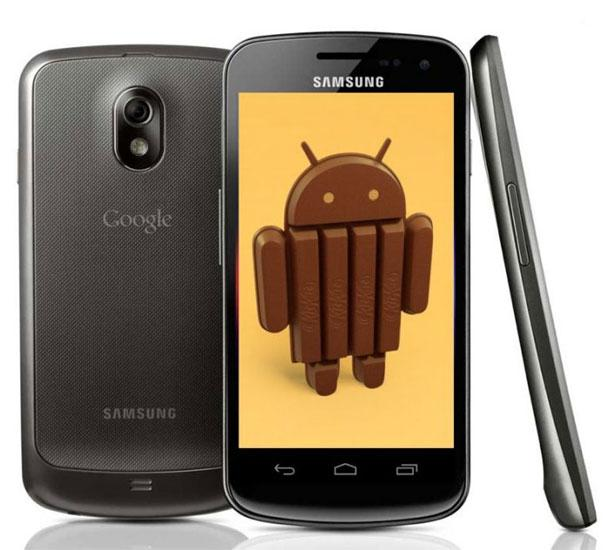 Galaxy Nexus con Android KitKat