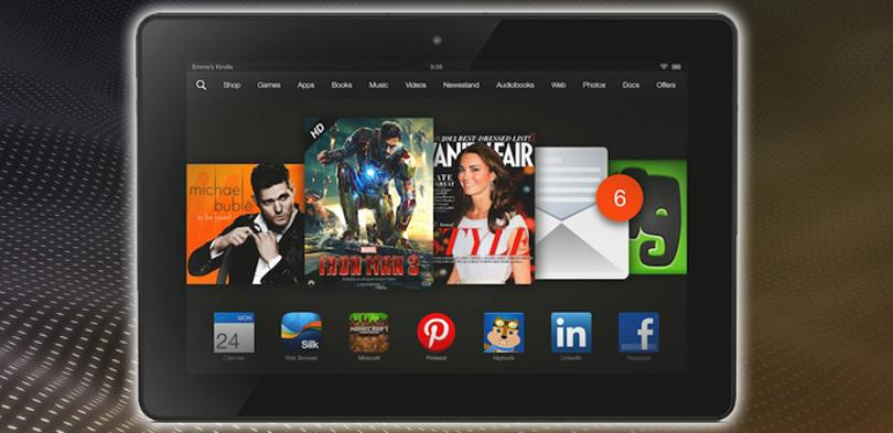 Kindle Fire HDX 8.9.