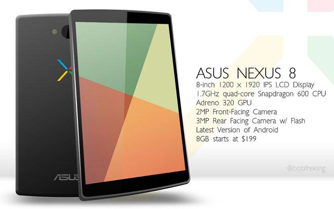 Recreacin del Nexus 8