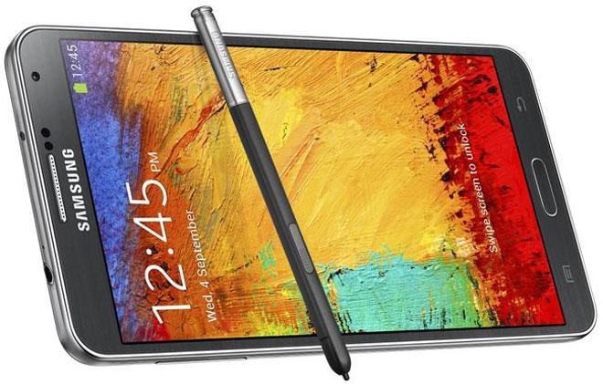 Samsung Galaxy Note 3 en color negro