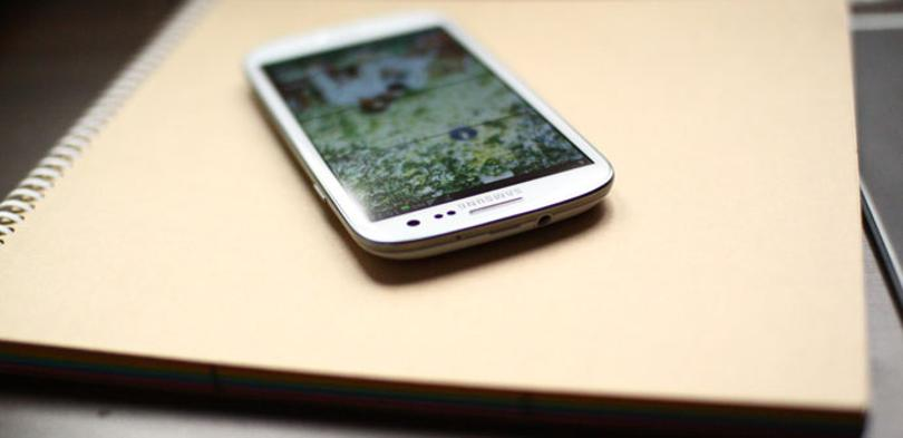 Samsung Galaxy blanco
