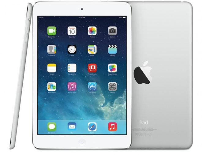 iPad Mini Retina en color plata