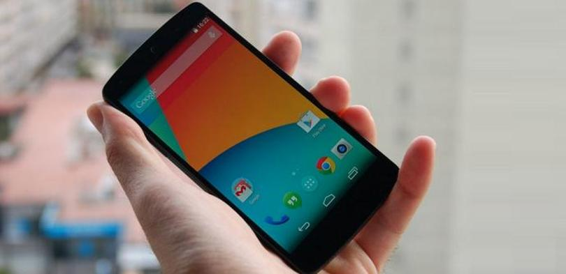 Nexus 5 brillo pantalla