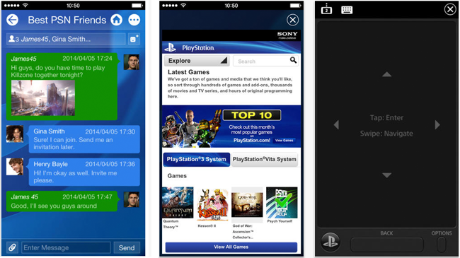 playstation 4 app ios