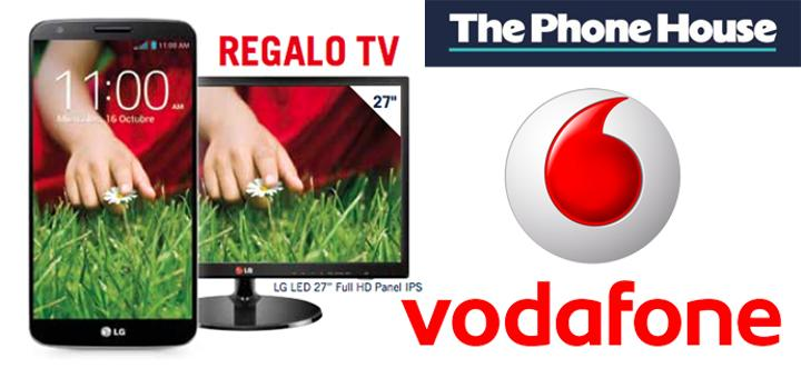 Vodafone LG G2 y TV gratis en The Phone House.