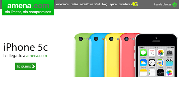 apertura amena iphone 5c