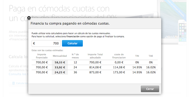 apple financiacion app