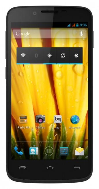 bq Aquaris 5 HD vista frontal