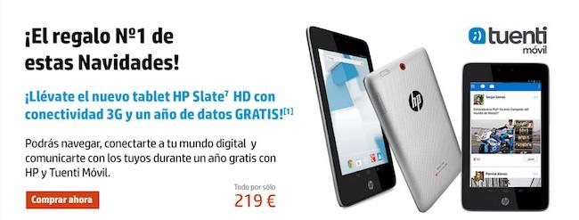 hp slate 7 hd tuenti movil