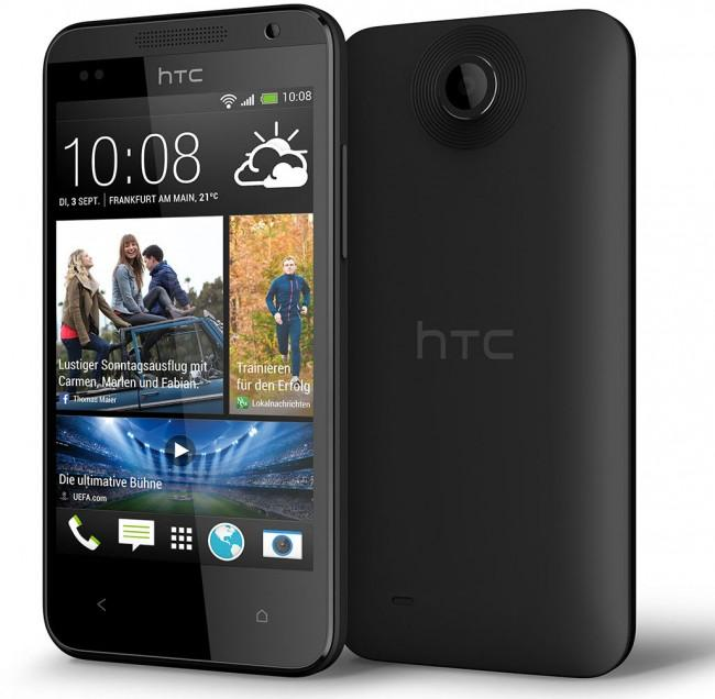 HTC Desire 300 en color negro