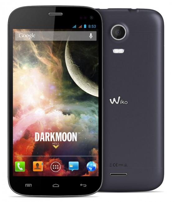 Wiko Darkmoon en color negro