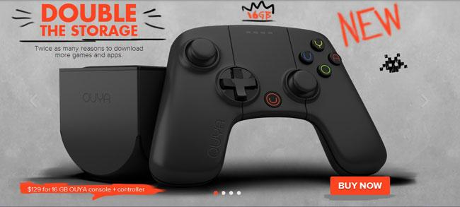 Nueva version de Ouya