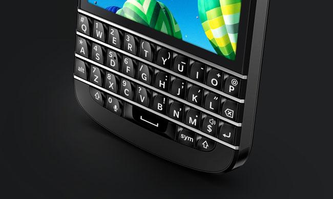 Teclado de BlackBerry