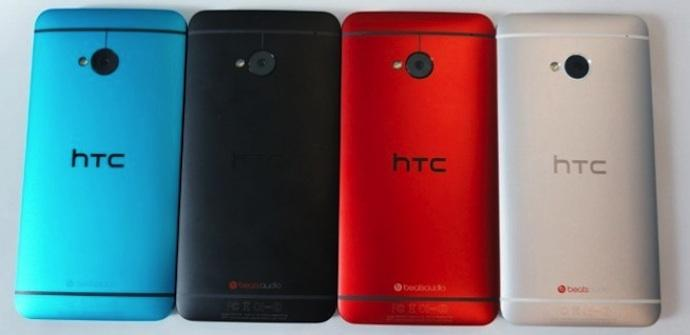 colores htc one