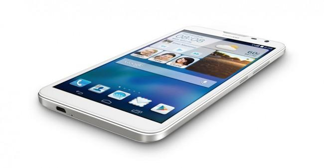 Huawei Ascend Mate 2 en color blanco