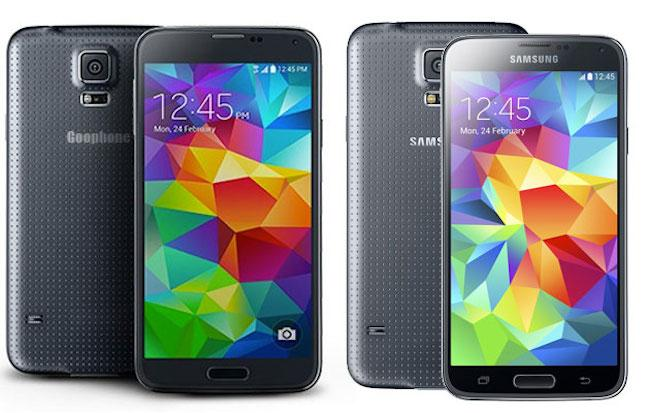 Goophone S5 vs Galaxy S5