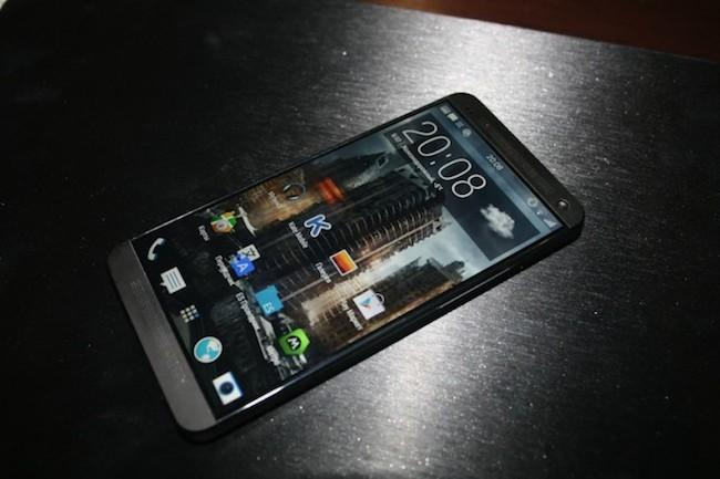 Frontal del HTC One M8