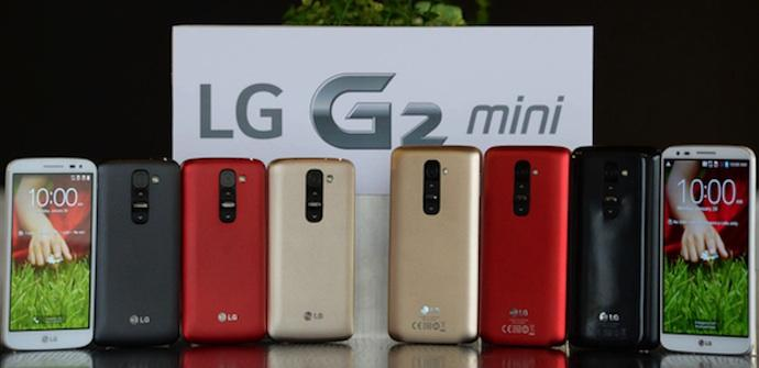LG G2 Mini en distintos colores