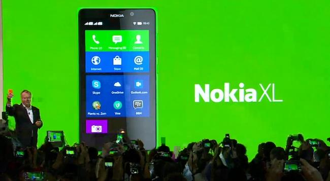 Nokia XL noticia