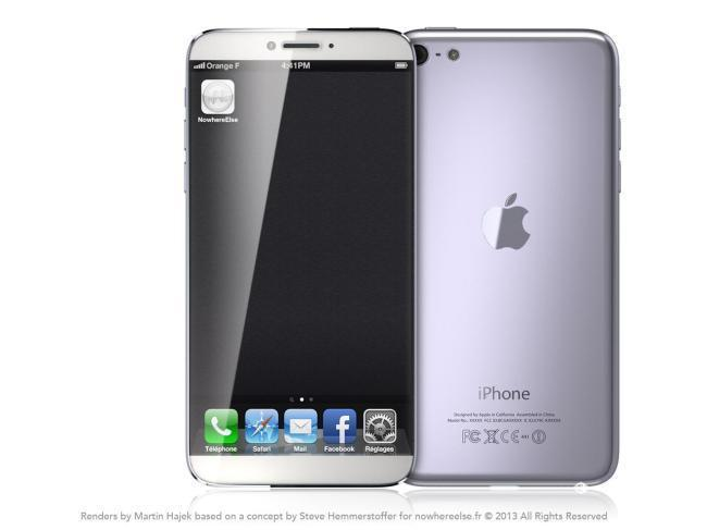 iPhone 6 sin marcos concepto