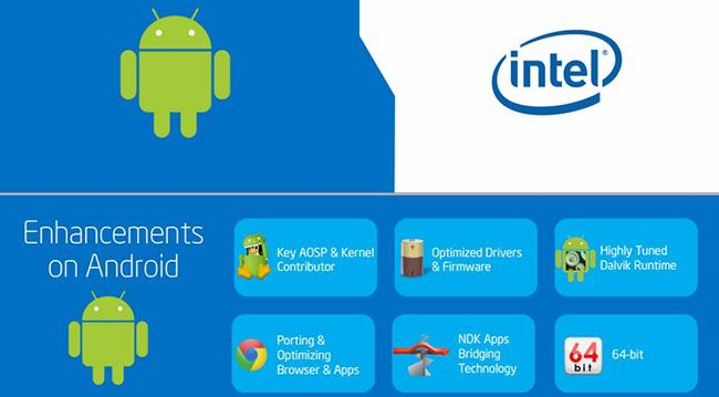 Android x64 bits Intel