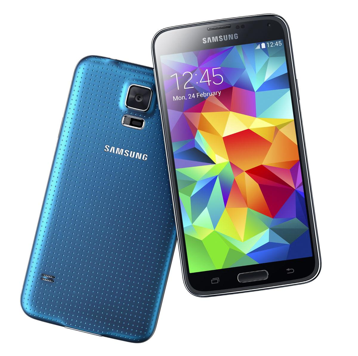 Samsung Galaxy S5 en color azul