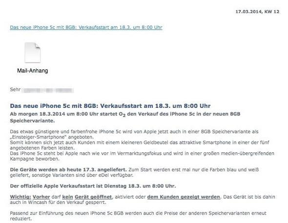 02 press release iphone 5c 8gb