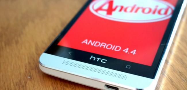 HTC One con Android KitKat