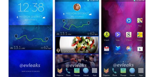 Samsung Galaxy™ S5 TouchWiz