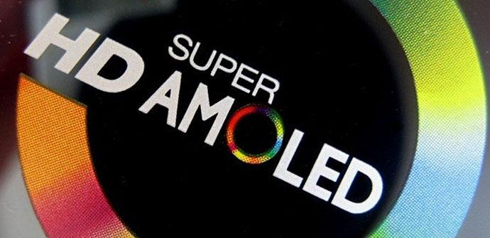 Pantalla Super AMOLED