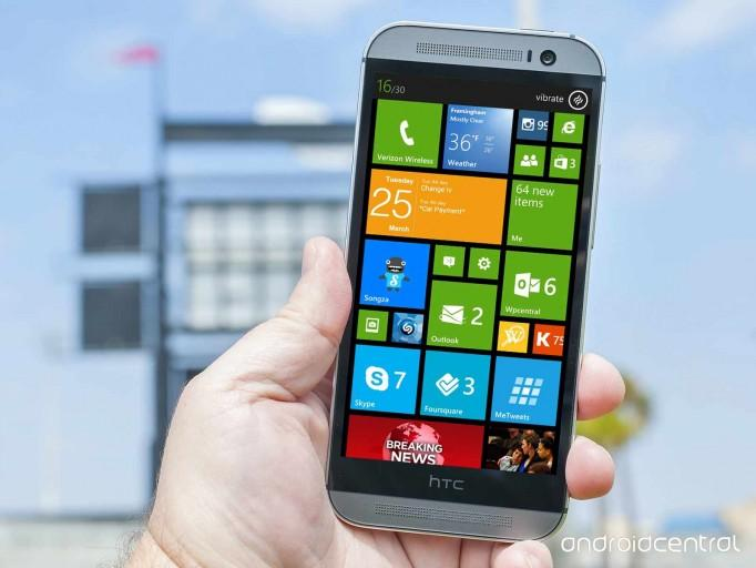 HTC One M8 Windows Phone 8.1