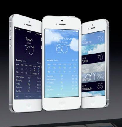 iphone 5 weather