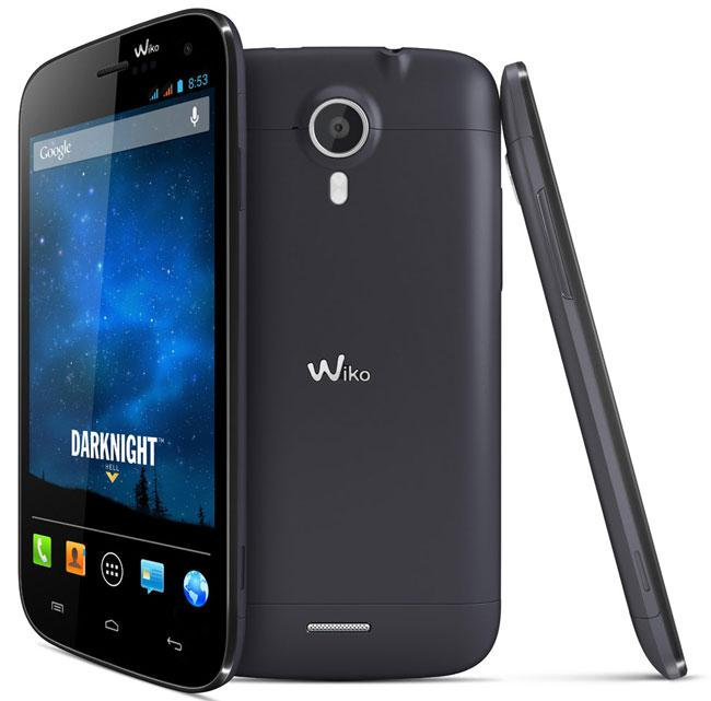 Wiko Darknight vista frontal y trasera