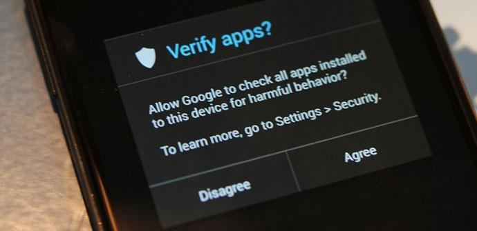 Funcionamiento de Verify Apps
