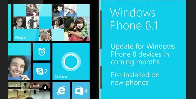 Interfaz de Windows Phone 8.1