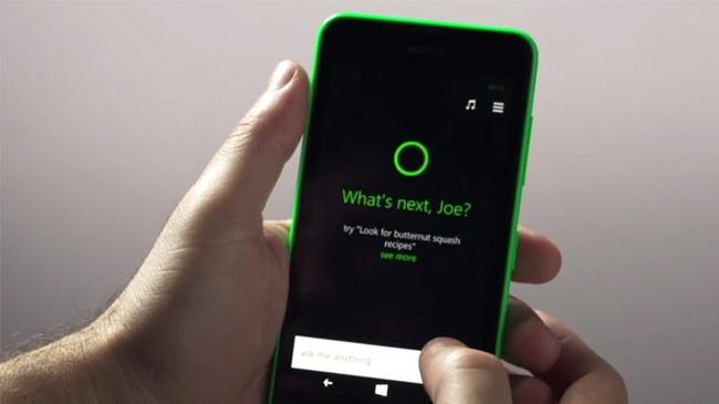 cuerpo cortana windows phone 8.1
