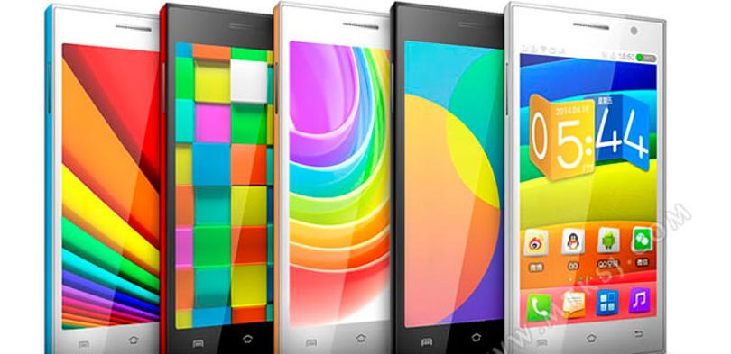 Smartphone low cost Newman N1