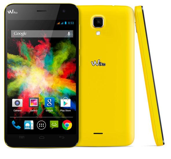 Wiko BLOOM en amarillo