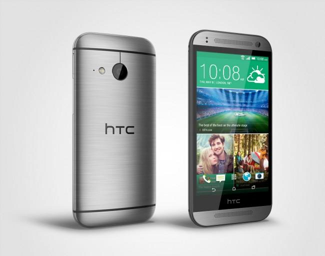 HTC One Mini 2 en color plata