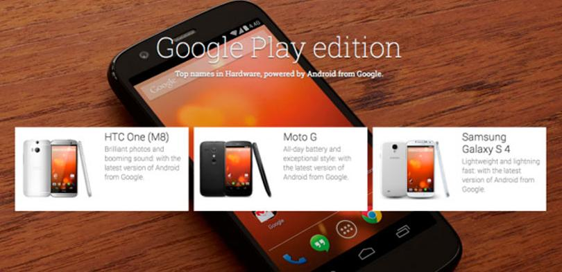 Smartphones Google Play Edition
