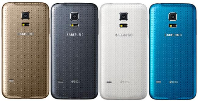Colores disponibles para el Samsung Galaxy S5 Mini
