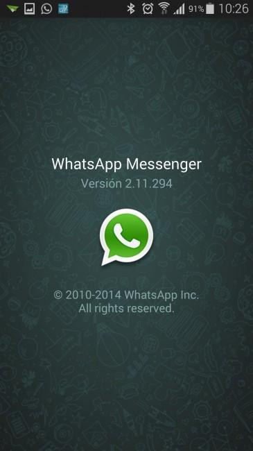 captura whatsapp beta 2