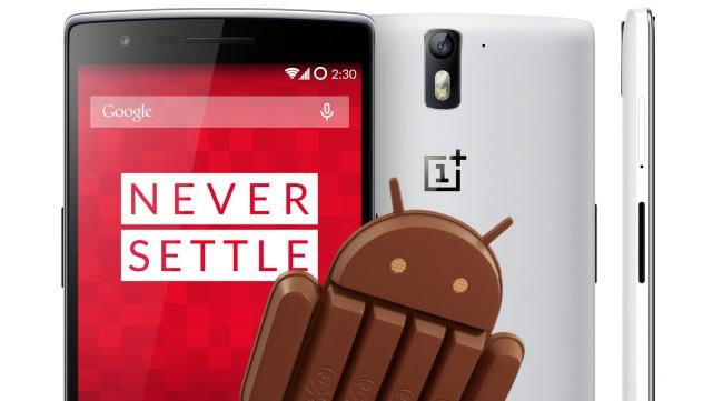 OnePlus One Android 4.4.4 Stock