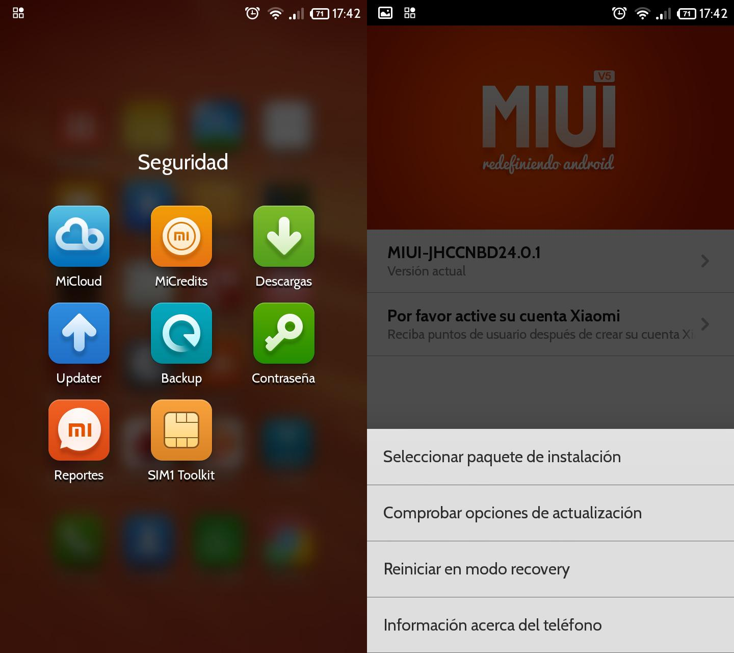 tutorial Xiaomi Redmi 1S Updater
