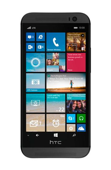 HTC One M8 con Windows Phone 8.1