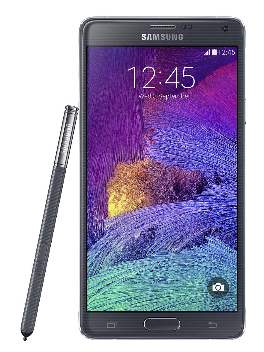 Samsung Galaxy Note 4 en color negro