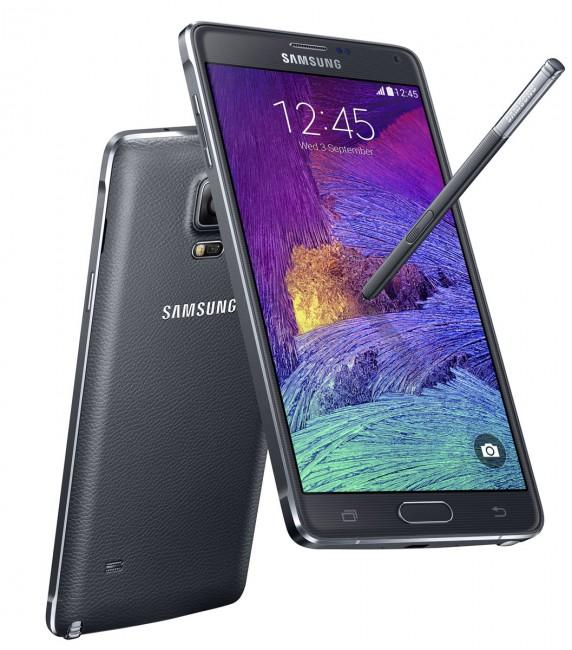 Samsung Galaxy Note 4 con iPhone 6 Plus